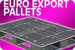 Euro Export Plastic Pallet