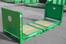 Flat Track Container