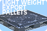 Light weight export pallets