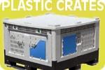 plastic pallet crates