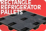 Refrigerator Plastic Pallet - Rectangle
