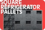Refrigerator Plastic Pallet - Square