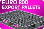 Euro 800 Export Plastic Pallet